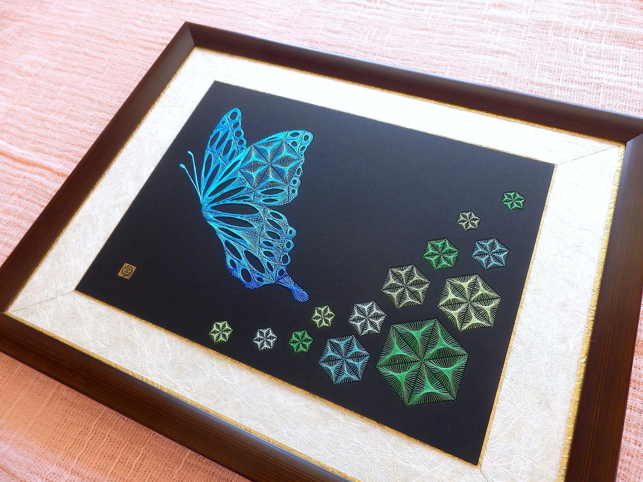 麻の葉と蝶弐3