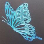 青い蝶 2