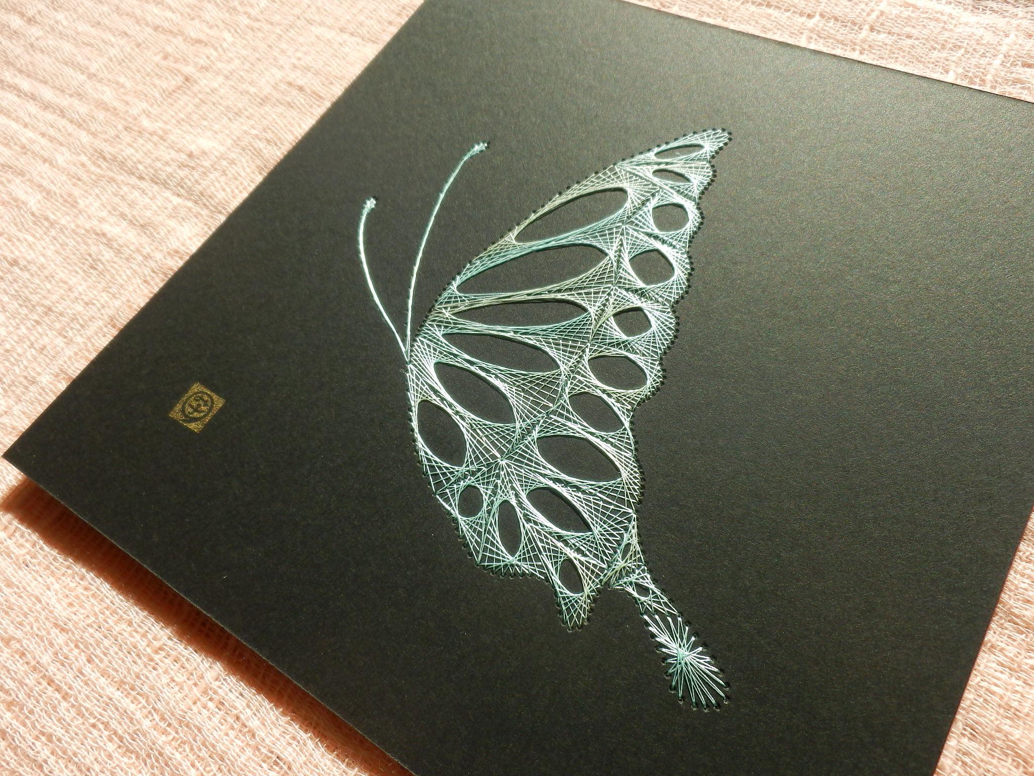 薄緑の蝶2