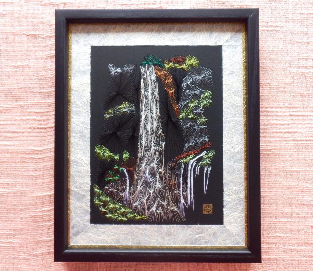 糸とおし 華厳の滝