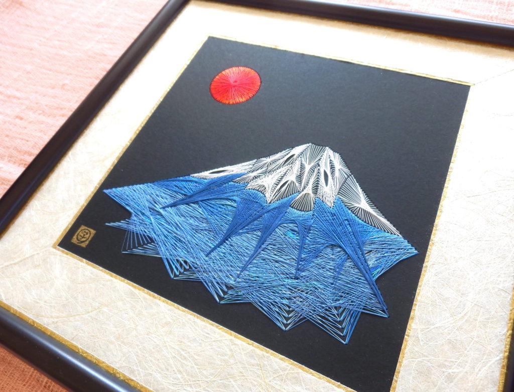 糸とおし 富士山