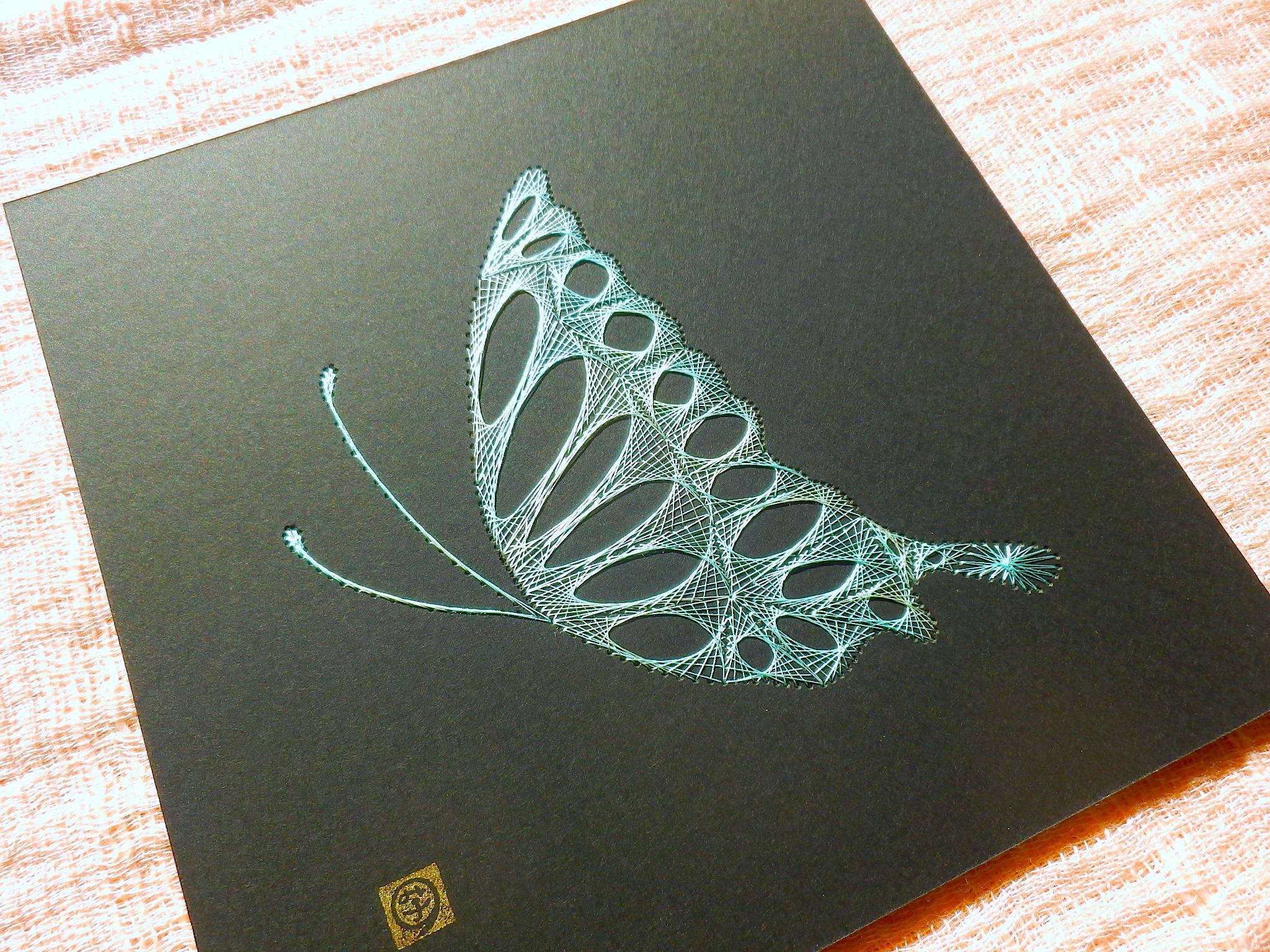 薄緑の蝶3