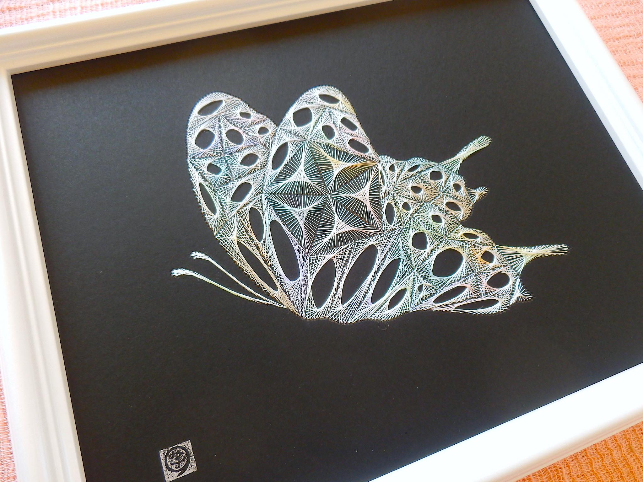 虹色の蝶2