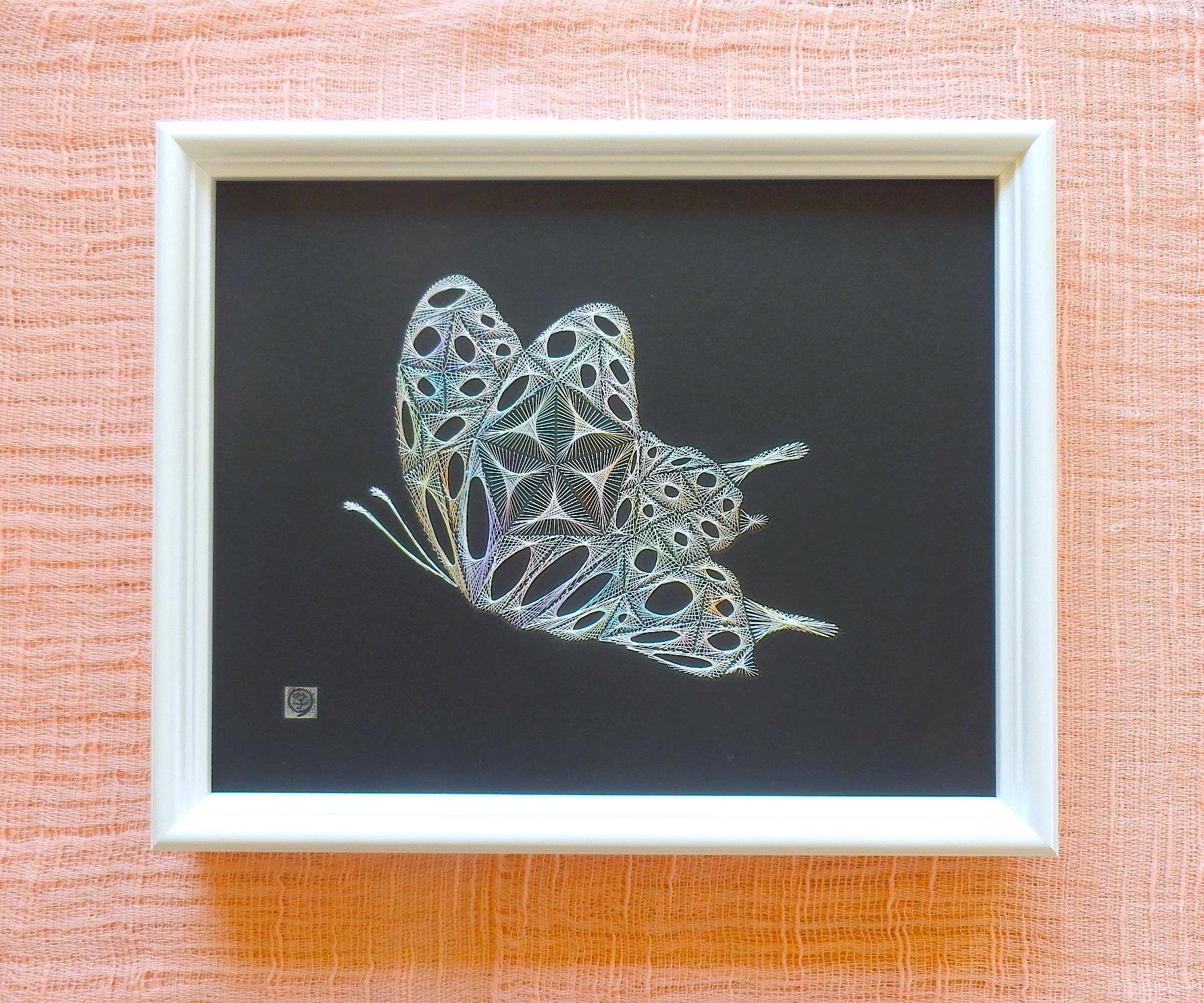 虹色の蝶1