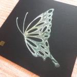 糸とおしワークショップ 蝶2