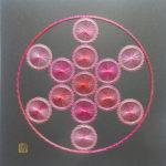 神聖幾何学フルーツオブライフ【糸とおし】