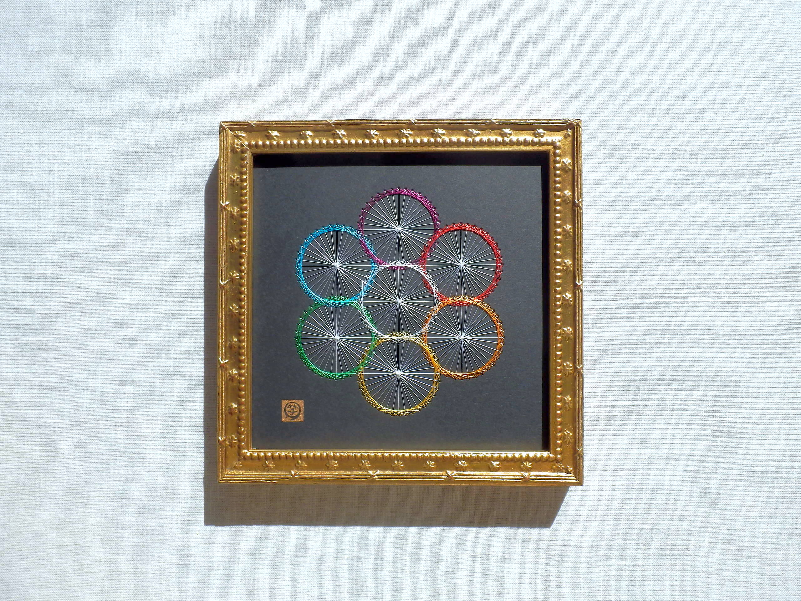 神聖幾何学 エッグオブライフ 【糸とおし】