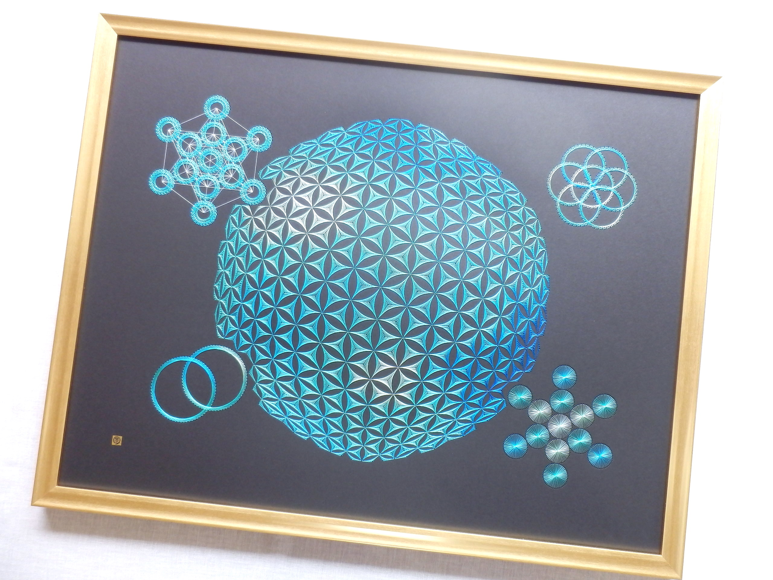 blue sacred geometry 10