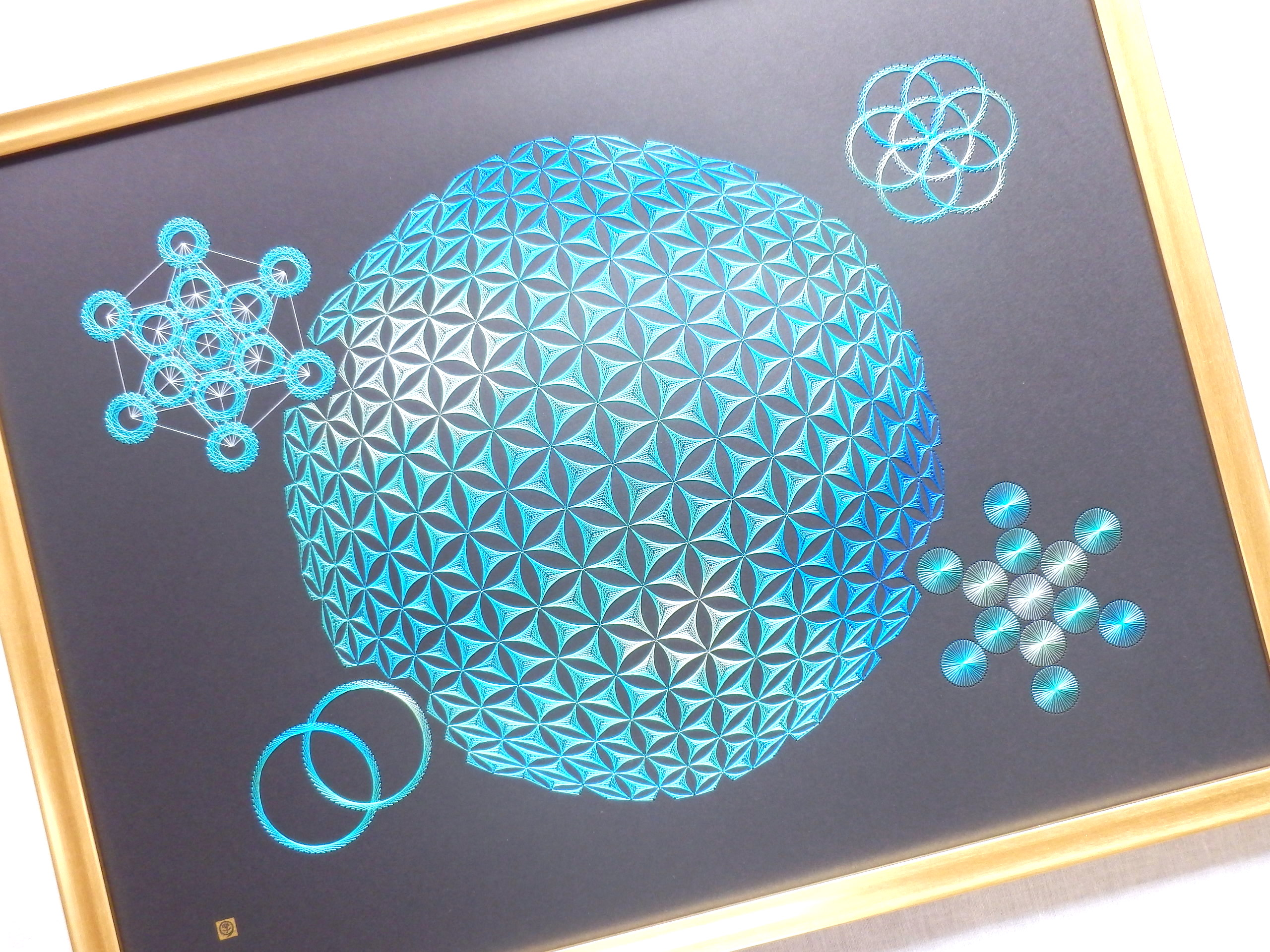 blue sacred geometry 6